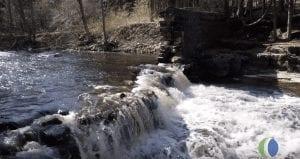 Devil's River waterfall