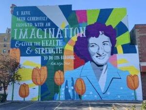 Ruth West Mural