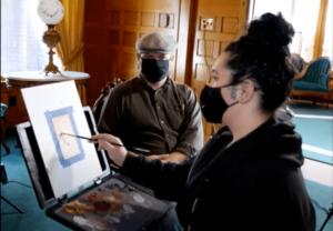 Live Painting With Sonia Vasquez